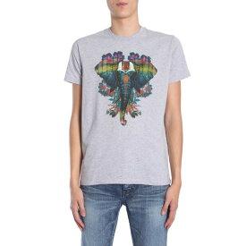 エトロ メンズ カットソー トップス Etro Round Collar T-shirt -