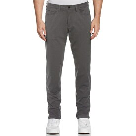ペリーエリス メンズ カジュアルパンツ ボトムス Motion Slim-Fit 5-Pocket Performance Stretch Pants Charcoal Heather