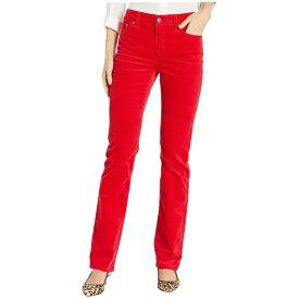 ラルフローレン レディース デニムパンツ ボトムス Premier Straight Corduroy Jeans Lipstick Red