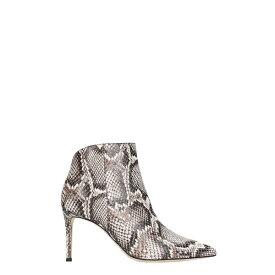 ジュゼッペザノッティ レディース ブーツ&レインブーツ シューズ Giuseppe Zanotti Tysha Ankle Boots In Animalier Leather -