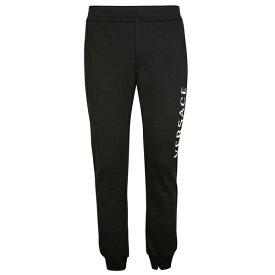 ヴェルサーチ メンズ カジュアルパンツ ボトムス Versace Printed Logo Track Pants -