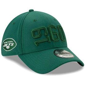 ニューエラ メンズ 帽子 アクセサリー New York Jets New Era 2019 NFL Sideline Color Rush 39THIRTY Flex Hat Green