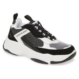 カルバンクライン レディース スニーカー シューズ Calvin Klein Jeans Maya Sneaker (Women) Black/ White Multi