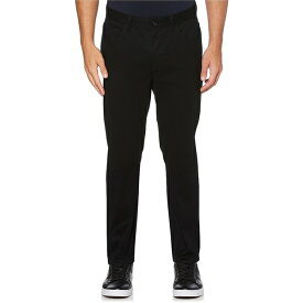 ペリーエリス メンズ カジュアルパンツ ボトムス Slim-Fit Wrinkle-Resistant Water-Repellent Stretch 5-Pocket Pants Black