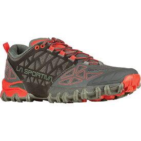 ラスポルティバ レディース ランニング スポーツ La Sportiva Women's Bushido II Shoe Carbon / Hibiscus