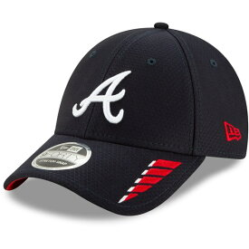 ニューエラ メンズ 帽子 アクセサリー New Era Men's Atlanta Braves 9FORTY Rush Ball Cap Navy