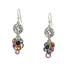 ブライトン レディース ピアス&イヤリング アクセサリー Elora Gems Cascade French Wire Earrings Multi