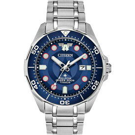 シチズン レディース 腕時計 アクセサリー Eco-Drive Men's Promaster The First Avenger Silver-Tone Titanium Bracelet Watch 44mm- A Limited Edition Silver
