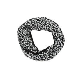 マイケルコース レディース マフラー・ストール・スカーフ アクセサリー Sporty Leopard Print Infinity Scarf CREAM GREY BLACK
