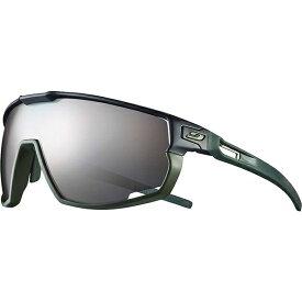 ジュルボ メンズ サングラス・アイウェア アクセサリー Julbo Rush Sunglasses Black / Green Frame With Spectron 3+