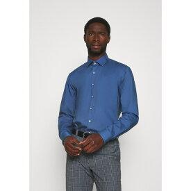カルバン クライン テイラード メンズ シャツ トップス STRETCH SLIM - Formal shirt - blue dvrq011a