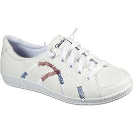 スケッチャーズ レディース スニーカー シューズ Madison Ave Allow Me Sneaker White/Red/Navy