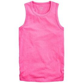 ジェイクルー レディース シャツ トップス Tie-Back Tank Top Neon Flamingo