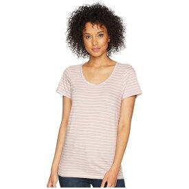 ペンドルトン レディース シャツ トップス Short Sleeve Pima Stripe Tee Zephyr/Marshmallow Stripe