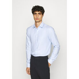 カルバン クライン テイラード メンズ シャツ トップス STRUCTURE EASY CARE SLIM - Formal shirt - blue