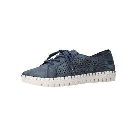 イージーストリート レディース スニーカー シューズ Women's Brodie Sneakers Navy