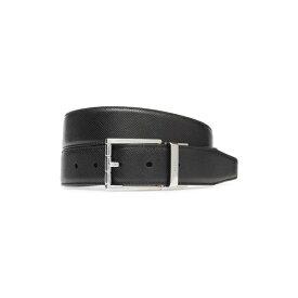 バリー メンズ ベルト アクセサリー Bally Astor Embossed Leather Belt Black