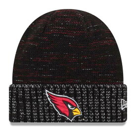 ニューエラ メンズ 帽子 アクセサリー Arizona Cardinals New Era 2017 Color Rush Knit Hat Black