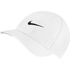 ナイキ メンズ 帽子 アクセサリー Nike Men's NikeCourt Advantage Tennis Hat White