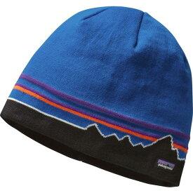 パタゴニア メンズ 帽子 アクセサリー Patagonia Men's Beanie Hat KansasSkyKnt/KlpForest