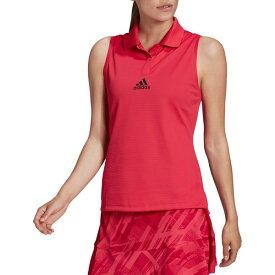 アディダス レディース シャツ トップス adidas Women's Tennis Match Heat.DRY Tank Top PowerPink