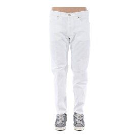ゴールデングース メンズ デニムパンツ ボトムス Straight Leg Jeans Bianco
