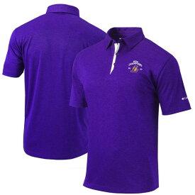コロンビア メンズ ポロシャツ トップス Los Angeles Lakers Columbia 2020 NBA Finals Champions Sand Save Polo Purple