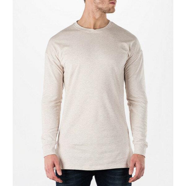 アディダス メンズ Tシャツ トップス Men's adidas Harden Vol.1 Long-Sleeve Dfynt T-Shirt Clear Brown