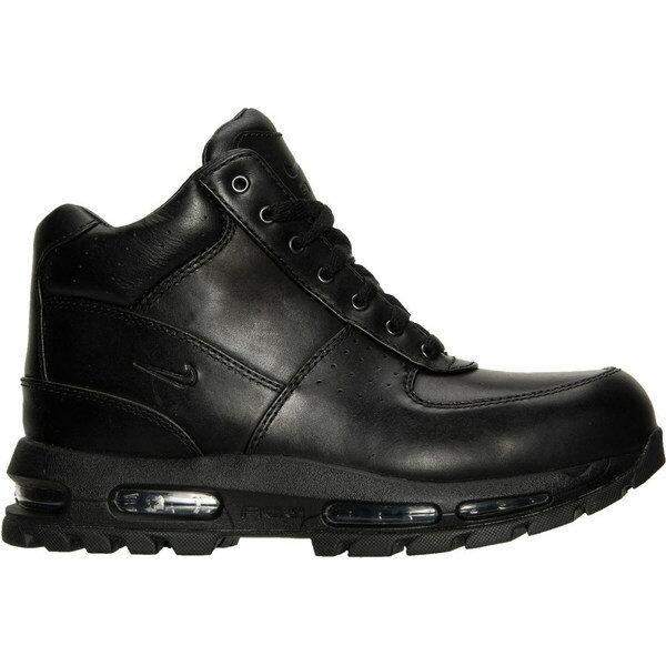 ナイキ メンズ ブーツ&レインブーツ シューズ Men's Nike Air Max Goadome Boots Black/Black/Black