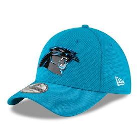 ニューエラ メンズ 帽子 アクセサリー Carolina Panthers New Era Color Rush On Field 39THIRTY Flex Hat Blue