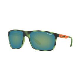 アーネット レディース サングラス&アイウェア アクセサリー Sunglasses, AN4244 BLUE HAVANA/GREY EMEREALD IRIDIUM