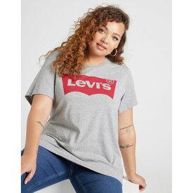 リーバイス レディース Tシャツ トップス Levis Perfect Plus Size T-Shirt grey
