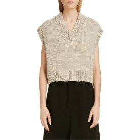 マルタンマルジェラ レディース ニット&セーター アウター Maison Margiela V-Neck Sweater Vest Beige