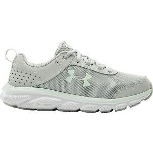 アンダーアーマー レディース ランニング スポーツ Under Armour Women's Charged Assert 8 Running Shoes Grey/Blue