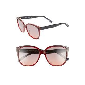 レベッカミンコフ レディース サングラス&アイウェア アクセサリー Rebecca Minkoff Jane1 57mm Sunglasses Opal Burgundy
