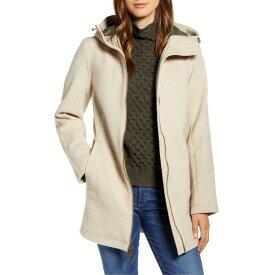 ペンドルトン レディース コート アウター Pendleton Finlay Waterproof Hooded Wool Blend Coat Oatmeal