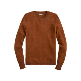 ジェイクルー レディース ニット&セーター アウター Cashmere Crew Neck Sweater Heather Walnut