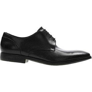 クラークス メンズ ドレスシューズ シューズ Men's Clarks Gilman Plain Toe Oxford Black Leather