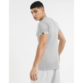 エレッセ メンズ Tシャツ トップス ellesse Prado t-shirt in gray GRAY