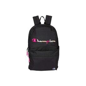 チャンピオン レディース バックパック・リュックサック バッグ Billboard Backpack Black/Pink