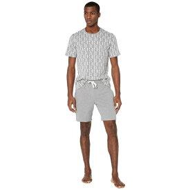 ヒューゴボス メンズ ナイトウェア アンダーウェア Relax Shorts Set 10190954 03 Gray