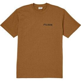 フィルソン メンズ Tシャツ トップス Filson Men's Outfitter Graphic SS T-Shirt Whiskey