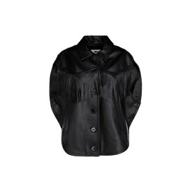 マルタンマルジェラ レディース ジャケット&ブルゾン アウター MM6 Maison Margiela Fringed Jacket -