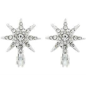 ラルフローレン レディース ピアス&イヤリング アクセサリー Pave Star Button Earrings Silver