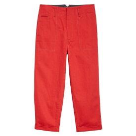 マルニ メンズ カジュアルパンツ ボトムス Marni Drill Pants (Nordstrom Exclusive) Red