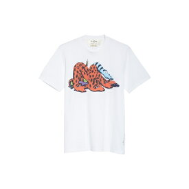 マルニ メンズ Tシャツ トップス Marni Graphic T-Shirt (Nordstrom Exclusive) White