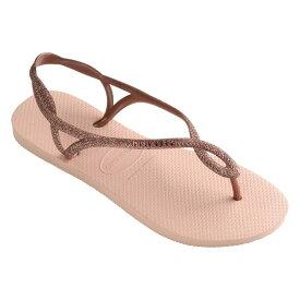 ハワイアナス レディース サンダル シューズ Luna Premium Flip-Flop Ballet Rose