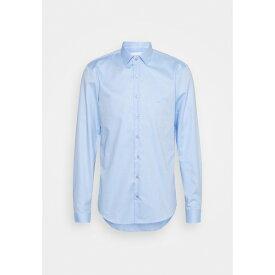 カルバン クライン テイラード メンズ シャツ トップス DOBBY EASY CARE SLIM SHIRT - Formal shirt - blue
