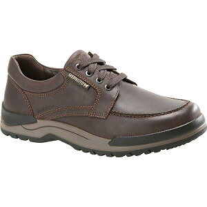 メフィスト メンズ スニーカー シューズ Men's Mephisto Charles Walking Shoe Dark Brown Grizzly