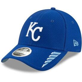 ニューエラ メンズ 帽子 アクセサリー New Era Men's Kansas City Royals 9FORTY Rush Ball Cap Blue